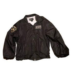 🎃Halloween Costume Security windbreaker jacket 2X